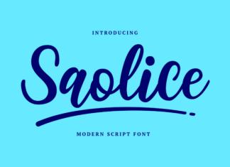 Saolice Font