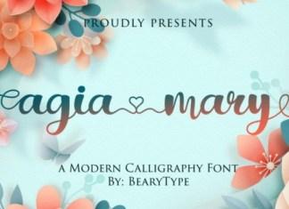 Agia Mary Font