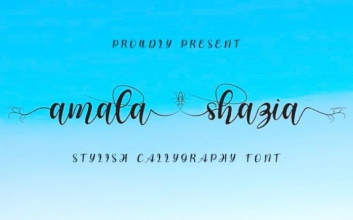 Amala Shazia Font