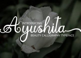 Ayushita Font