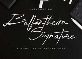Balfontheim Font