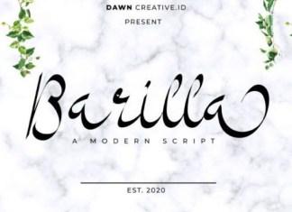 Barilla Font