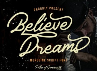 Believe Dreams Font