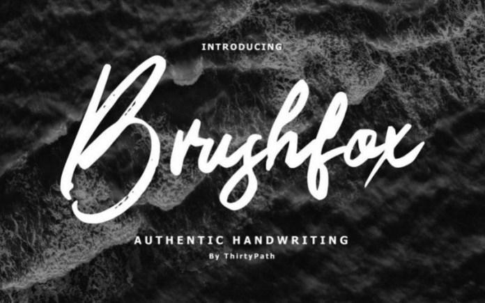 Brushfox Font