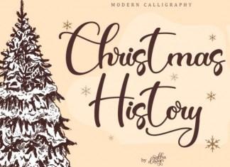 Christmas History Font