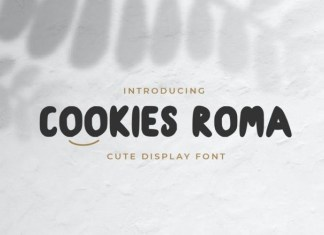 Cookies Roma Font