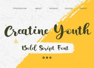 Creatine Youth Font