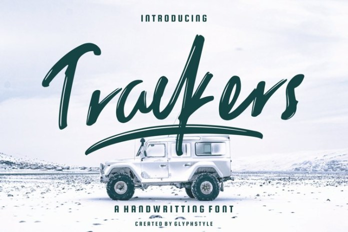 Trackers Font