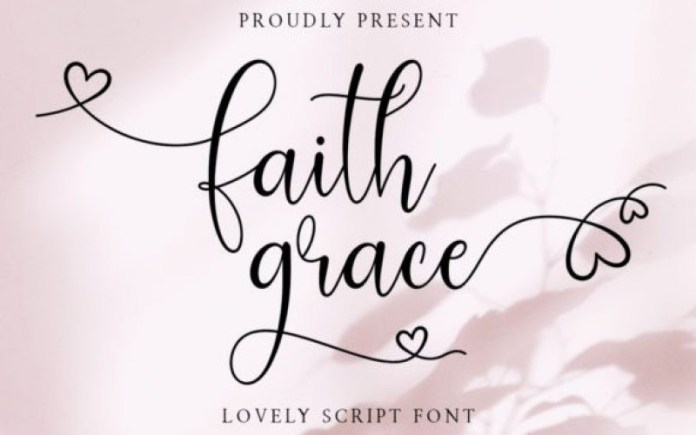 Faith Grace Font