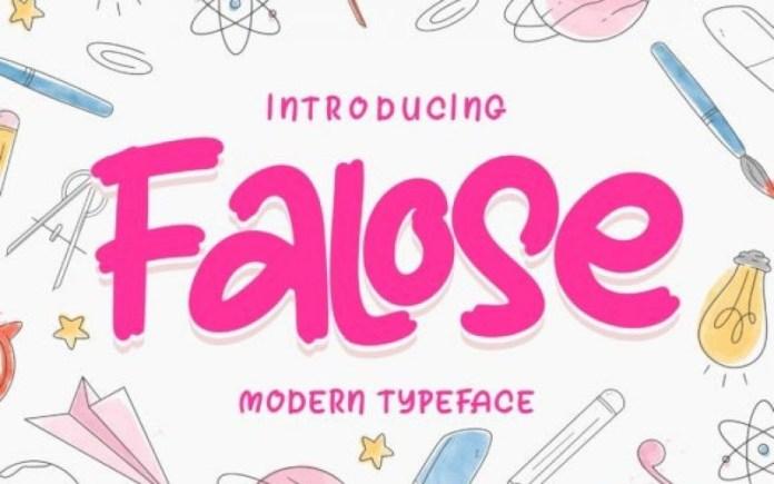 Falose Font
