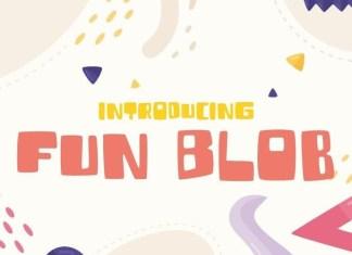 Fun Blob Font