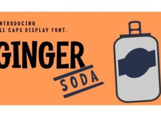 Ginger Soda Font