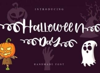 Halloween Day Font