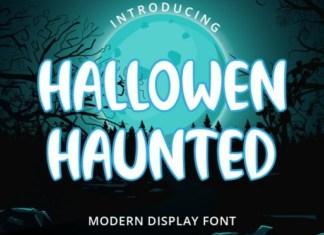 Halloween Haunted Font