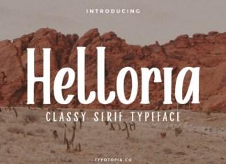 Helloria Font