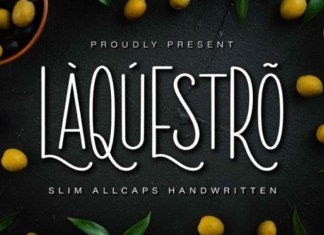 Laquestro Font