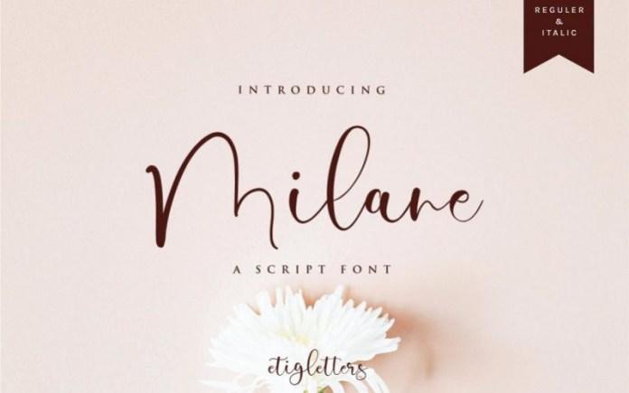 Milane Font