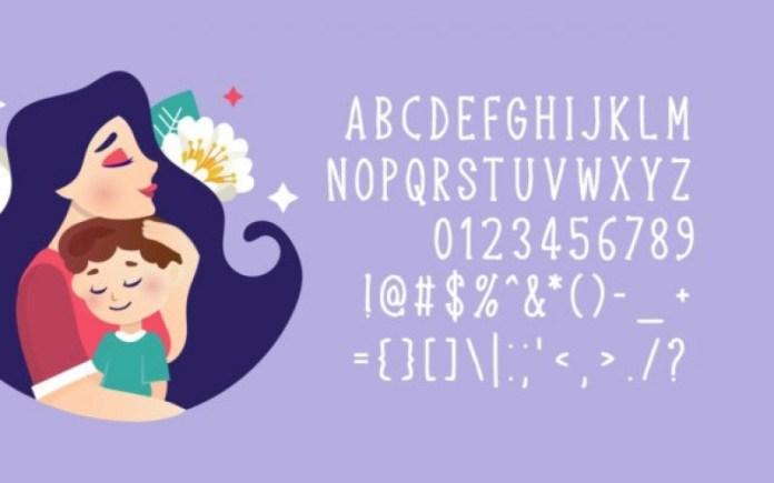Mother Wonder Font