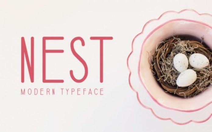 Nest Font