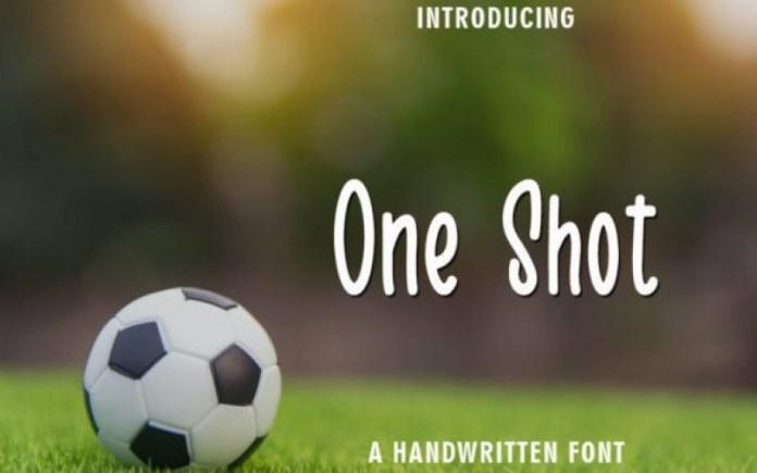 One Shot Font