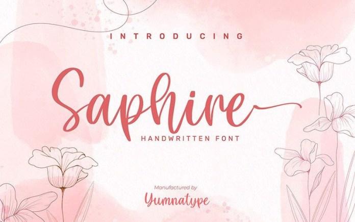 Saphire Font