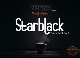 Starblack Font