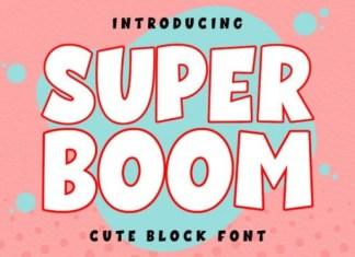 Super Boom Font
