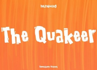The Quakeer Font