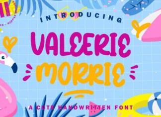 Valeerie Morrie Font