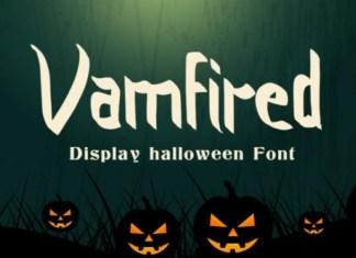 Vamfired Font