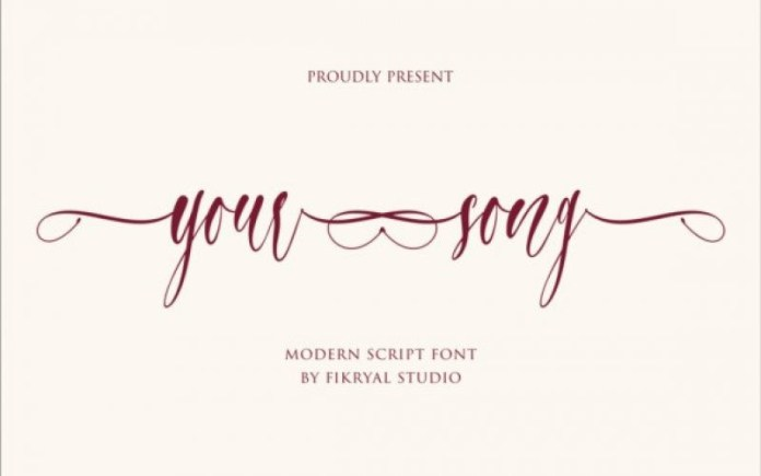Your Song Font