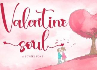 Valentine Soul Font