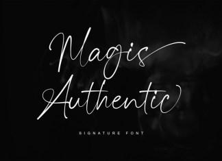 Magis Authentic Font