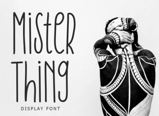 Mister Thing Font
