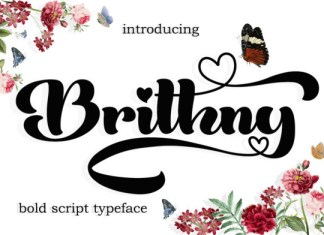 Brithny Font