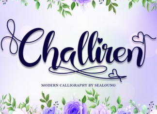 Challiren Font