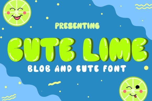 Cute Lime Font