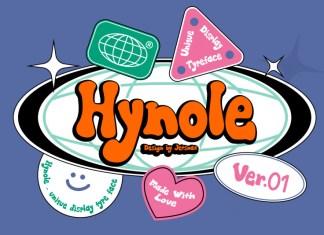 Hynole Font