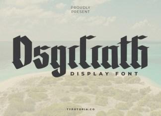 The Osgiliath Font
