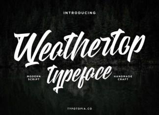 Weathertop Font