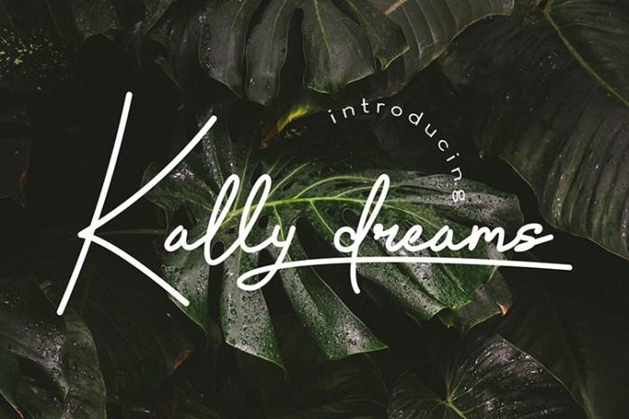 Kally dreams Font