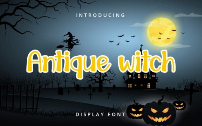 Antique Witch Font