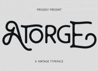 Atorge Font