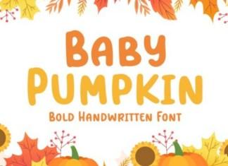 Baby Pumpkin Font