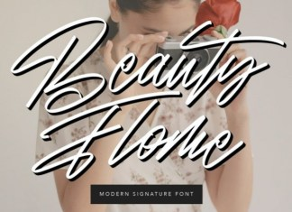 Beauty Flome Font