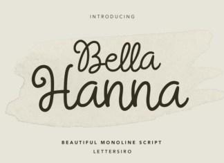 Bella Hanna Font