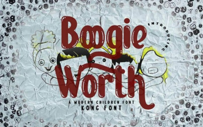 Boogie Worth Font