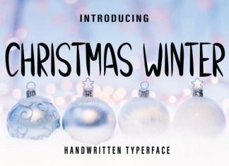 Christmas Winter Font