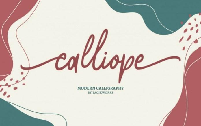 Calliope Font