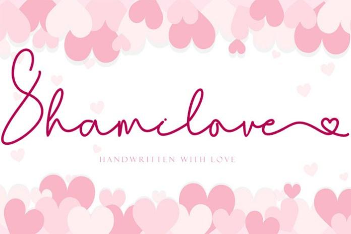 Shamilove Font